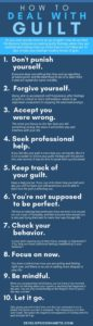 Illustration of How To Overcome Feelings Of Guilt Towards Yourself?