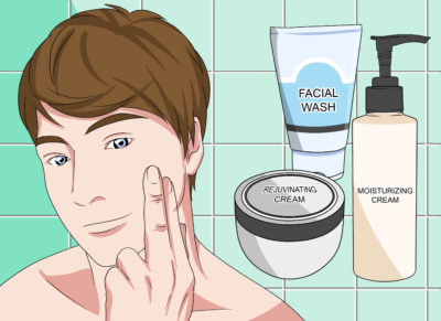 Illustration of How To Choose Facial Skin Care That Is Suitable For Sensitive Skin For Women Aged 20 Years?