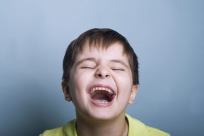 Illustration of The Cause Of Laughter While Crying?