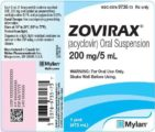 The Dose Of The Drug Acyclovir For Children Aged 1 Year 8 Months Affected By Chickenpox?