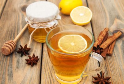 Illustration of Can I Drink Lemon Water With Honey?