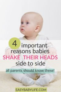 Illustration of Cause Babies Often Shake Their Heads Like They Are Uncomfortable?