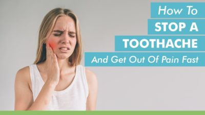 Illustration of How To Relieve Toothache Due To Cavities?