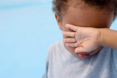 Illustration of Why Do Children Often Close Their Eyes While Closing Their Mouths?