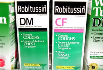 Illustration of The Use Of Cough Medicine?