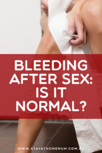 Illustration of Causes And Ways To Deal With Mild Bleeding After Sex?