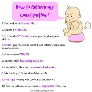 Illustration of Causes And Ways To Overcome Constipation In Infants Aged 7 Months?
