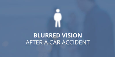 Illustration of Eyes Get Blurry After A Collision Accident?