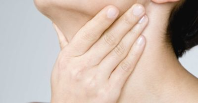 Illustration of Causes And Ways To Overcome Stiff Throat And Difficulty Swallowing Saliva?