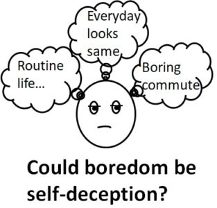 Illustration of How To Deal With Life Feels Monotonous And Boring?