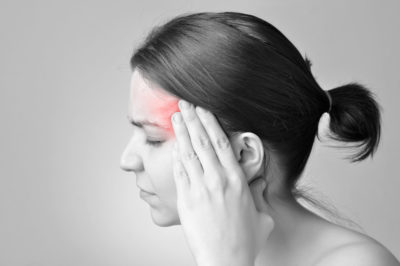 Illustration of The Cause Is Often Migraines From Right To Left That Never Heal?