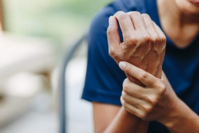 Illustration of Causes Of Hand Trembling After An Accident?