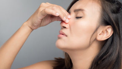 Illustration of Causes Of Right Nasal Congestion?