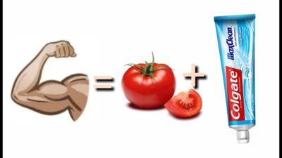 Illustration of The Use Of Toothpaste Mixed With Tomato Juice To Enlarge The Penis?