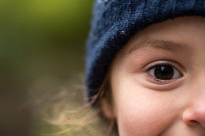 Illustration of The Cause Of The Left Eye Is Blurry Since Childhood?