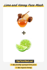 Illustration of The Use Of Lime For A Face Mask?