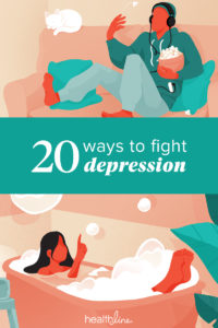 Illustration of How To Treat Excessive Depression?