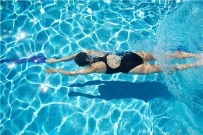Illustration of Is Swimming Safe For A Fractured Spine?