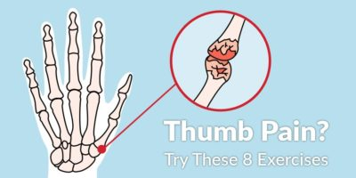 Illustration of The Thumb Aches When Pressed?