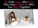 Difficult Chapter After Intercourse?