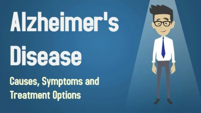 Illustration of Causes And Treatment Of Alzheimer's Disease?
