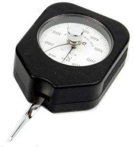 Illustration of The Accuracy Of The Tensimeter Tool Is If The Needle Is Not At Point 0?