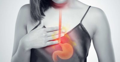 Illustration of Stomach Pain In Heartburn Sufferers?