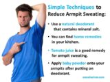 Solution To Overcome Excessive Sweating?