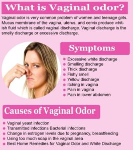 Illustration of The Cause Of Vaginal Discharge Is Odorous?
