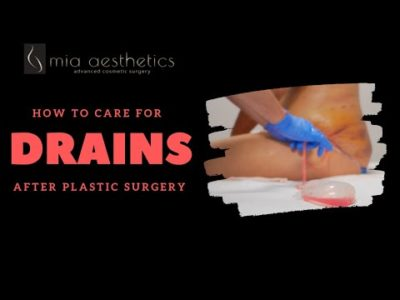 Illustration of Post-surgical Plastic Surgery On The Genitals Removing Pus?