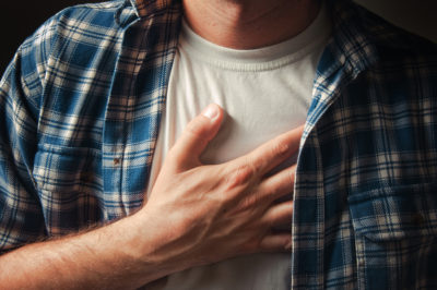 Illustration of Left-hand Chest Pain That Extends To The Back?
