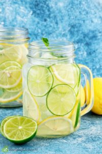 Illustration of Can I Consume Lime Juice Infused Water When Having An Ulcer?