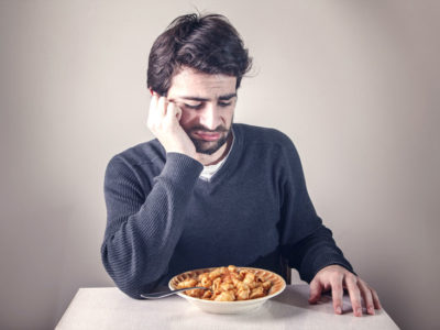 Illustration of The Cause Of Appetite Suddenly Disappear While Eating?