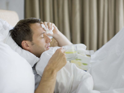 Illustration of Causes Of Head Throbbing, Fever, Back Pain And Chills?