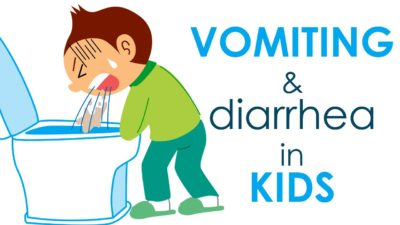 Illustration of The Child Has An Upset Stomach After Diarrhea And Vomiting?