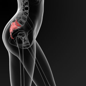 Illustration of How To Deal With Prolonged Pain In The Tailbone Area?