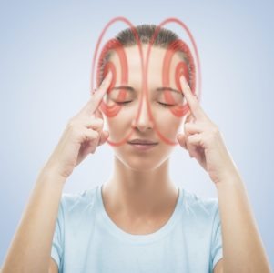 Illustration of Causes Headaches And Feels Spinning?