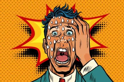 Illustration of Causes Of Insomnia, Panic, Sweating And Often Feel Guilty?