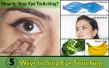 Causes Frequent Eye Twitching?