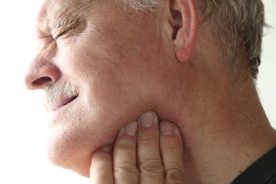 Illustration of How To Deal With Pain Under The Jaw?