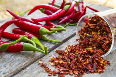 Illustration of Effect Of Vitamins On Spicy Food?
