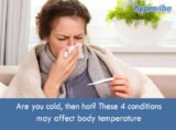 The Cause Of Body Temperature Heat When Not Sick?