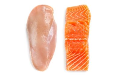 Illustration of Is Chicken Or Fish Meat Can Make Old Wounds Dry?