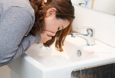Illustration of Nausea, Vomiting Of Blood And Heartburn In Pregnant Women?