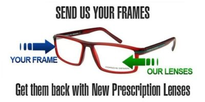 Illustration of Replacement Eyeglass Lenses With Frames Without Checking?