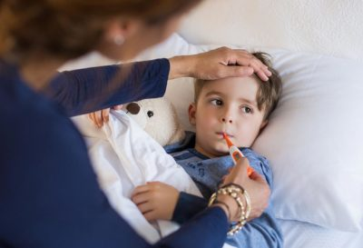 Illustration of Causes And Overcome Weakness In Infants During Fever?