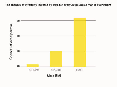 Illustration of Does Increasing Weight Affect Fertility?
