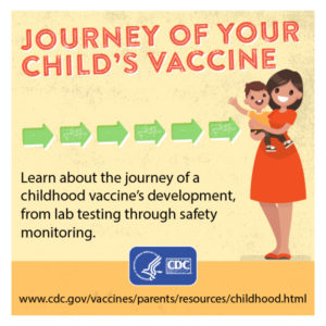 Illustration of The Stages Of Immunization In Children?