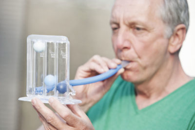 Illustration of Severe Shortness Of Breath Caused By Lung Disease?