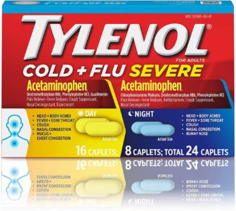 Illustration of Night Fever With Cough And Sore Throat?